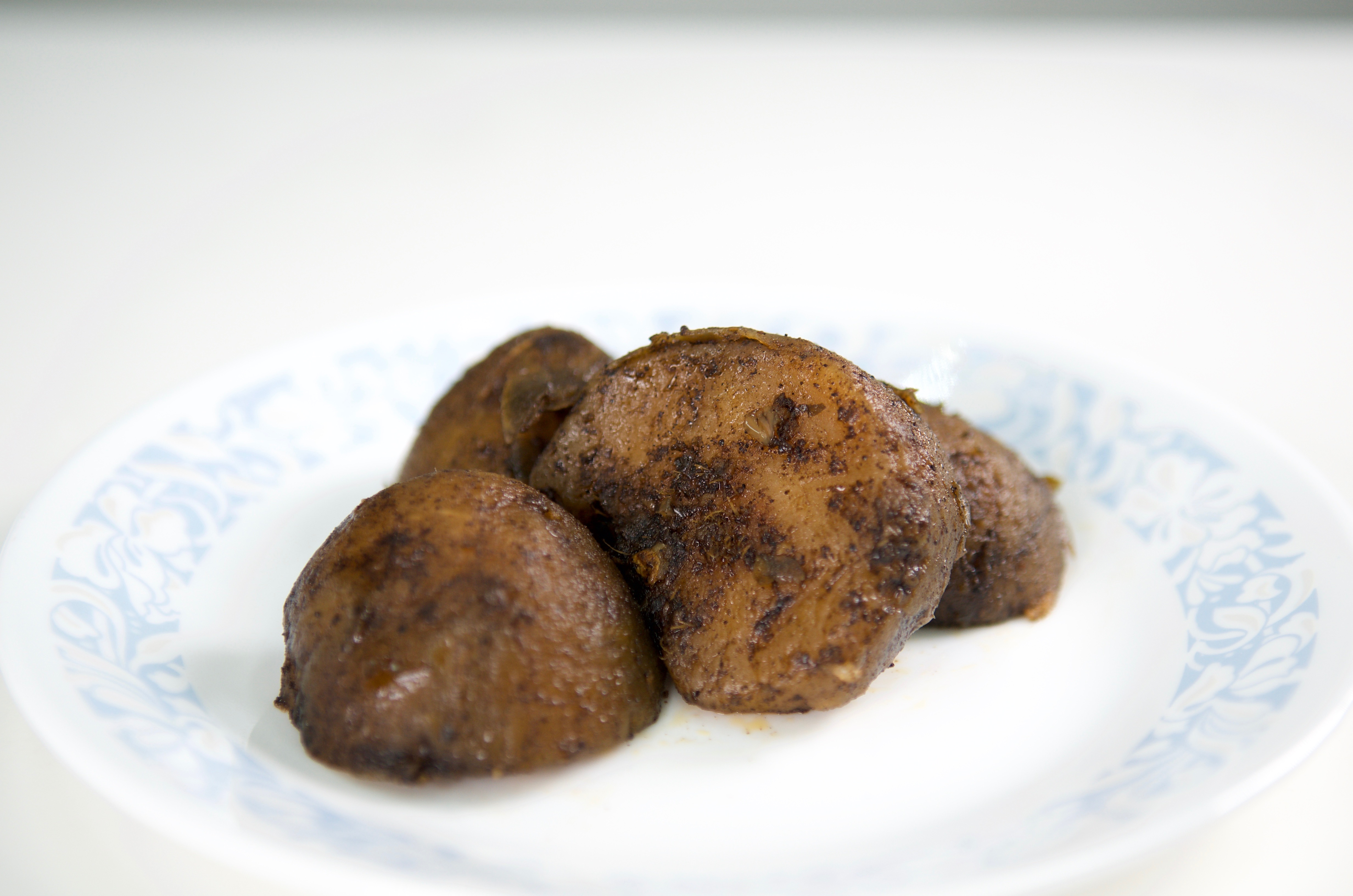 Anchar Pommecythere on plate