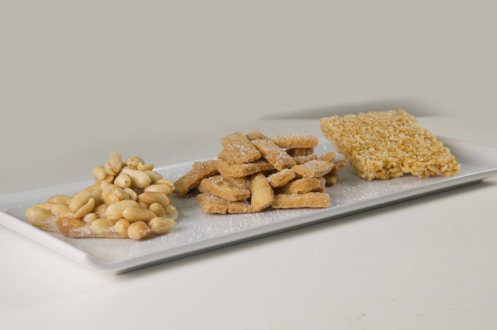 Nutcake, Kurma, Rice Cake on Tray